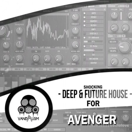 Vandalism Shocking Deep and Future House For Avenger Synth Presets MiDi