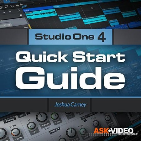 Ask Video Studio One 4 101 Quick Start Guide TUTORiAL