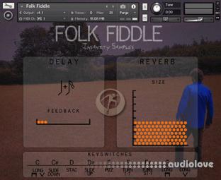 Insanity Samples Folk Fiddle