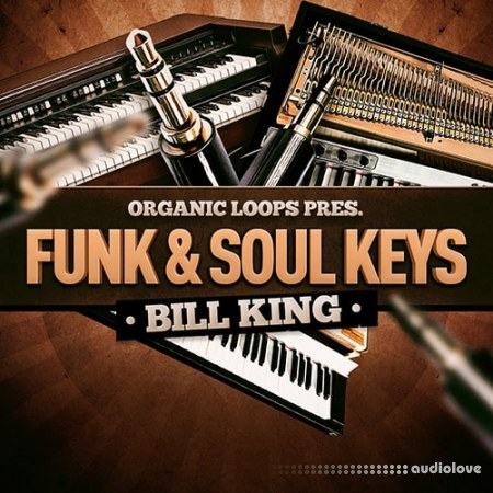 Organic Loops Funk and Soul Keys Bill King WAV REX