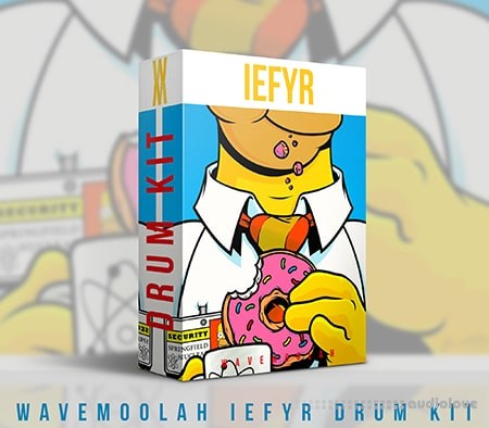 WaveMoolah IEFYR Drum Kit WAV
