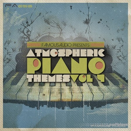 Famous Audio Atmospheric Piano Themes Vol.4 WAV MiDi