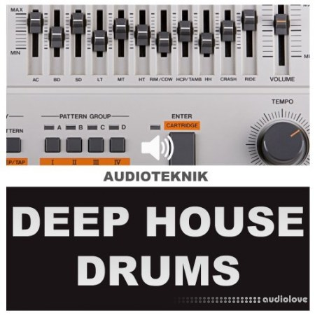 Audioteknik Deep House Drums WAV