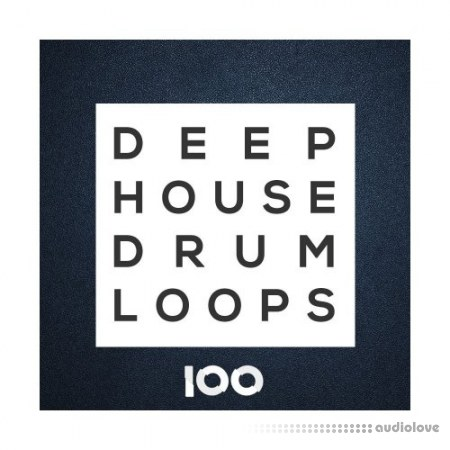 100 Samples Deep House Drum Loops WAV
