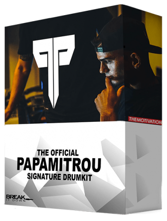 Break It Down Papamitrou Signature Drumkit WAV