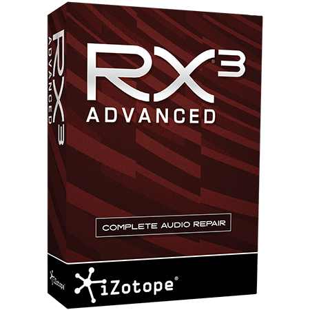 iZotope RX 3 Advanced v3.02 Incl Emulator WiN