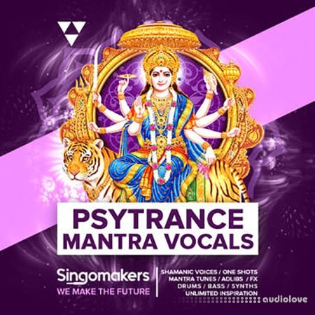 Singomakers Psytrance Mantra Vocals WAV Sampler Patches