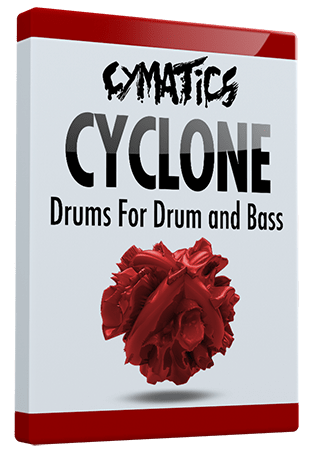 Cymatics Cyclone Drums for Drum and Bass WAV