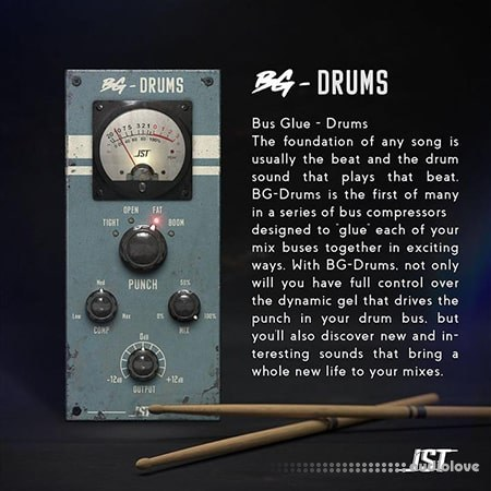 JST BG Drums Special Edition v1.0.1 WiN MacOSX