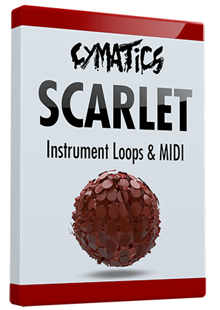Cymatics Scarlet Instrument Loops and MIDI WAV MiDi