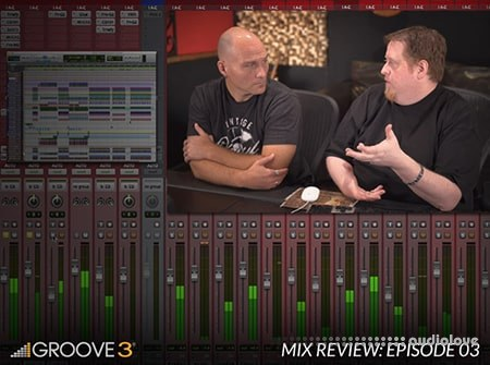 Groove3 Mix Review with Bob Horn and Erik Reichers Episode 3 TUTORiAL