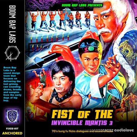 Boom Bap Labs Fist Of The Invincible Mantis Vol III WAV