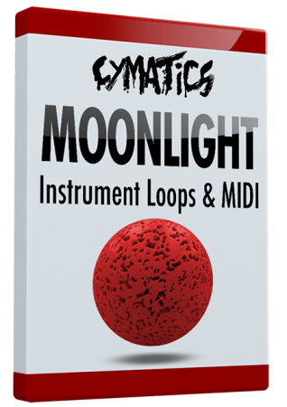 Cymatics Moonlight Instrument Loops and MIDI WAV MiDi