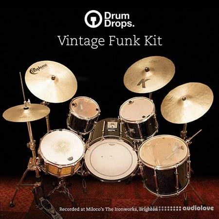 Drumdrops Vintage Funk Kit MULTiFORMAT