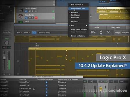 Groove3 Logic Pro X 10.4.2 Update Explained TUTORiAL