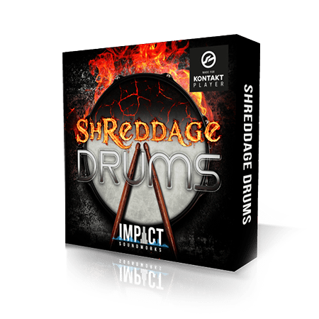 Impact Soundworks Shreddage Drums KONTAKT