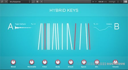 Native Instruments Hybrid Keys KONTAKT