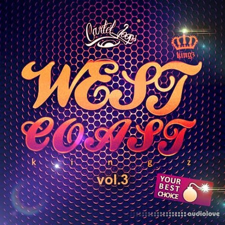 Cartel Loops West Coast Kingz Vol.3 WAV MiDi