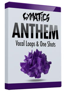 Cymatics Anthem Vocal Loops and One Shots