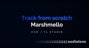 ADSR Sounds Track from Scratch, In the Style of Marshmello