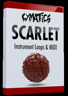 Cymatics Scarlet Instrument Loops and MIDI