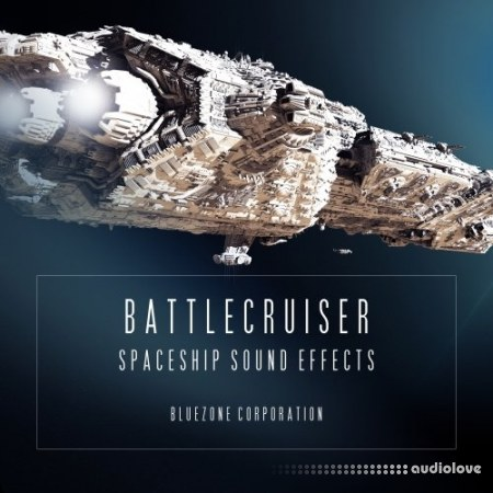 Bluezone Corporation Battlecruiser Spaceship Sound Effects WAV