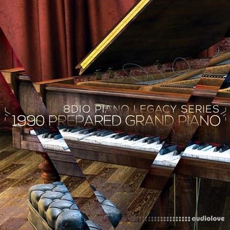 8Dio 1990 Studio Grand Piano KONTAKT
