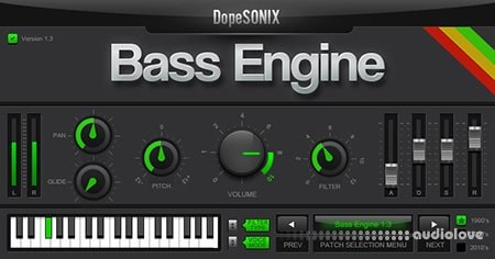 DopeSONIX Bass Engine v1.3 WiN MacOSX
