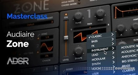 ADSR Sounds Zone by Audiaire Learn every feature and function TUTORiAL