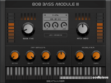 Electronik Sound Lab (BeatMaker) 808 Bass Module III v3.2.1 / v3.0.2 WiN MacOSX
