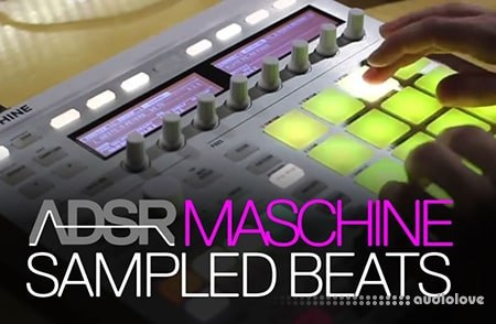 ADSR Sounds Create Original Beats With Sampled Sounds on Maschine TUTORiAL