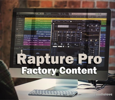 Cakewalk Rapture Pro Factory Content v2.1.3