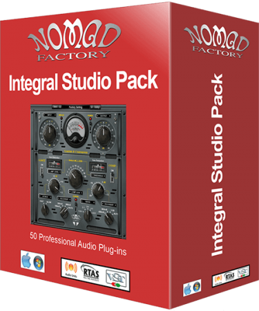 Nomad Factory Integral Studio Pack 3 v5.1.0 r3 WiN MacOSX