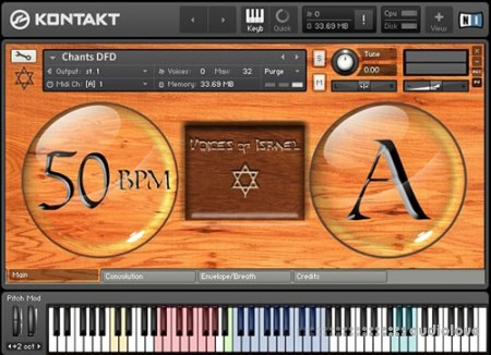 Sonokinetic Voices Of Israel KONTAKT
