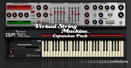 GForce Software Virtual String Machine Expansion Pack Synth Presets