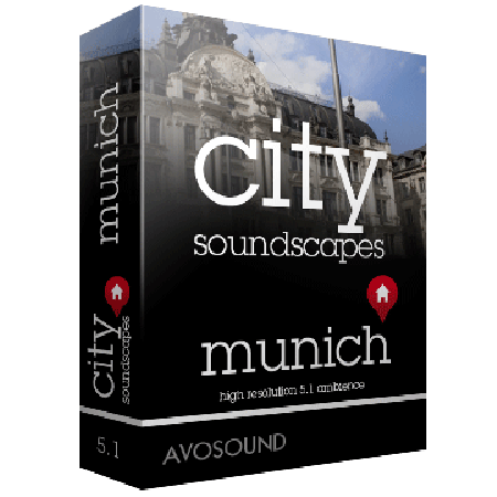 Avosound City Sounds Munich Atmospheres WAV