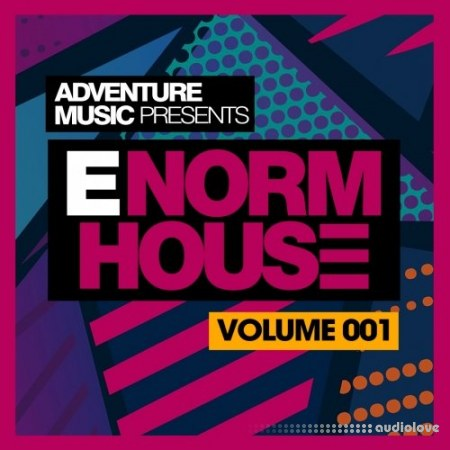 Adventure Music E-Norm House Vol.1 WAV MiDi Synth Presets