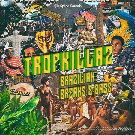 Splice Sounds Tropkillaz Brazilian Breaks and Bass WAV