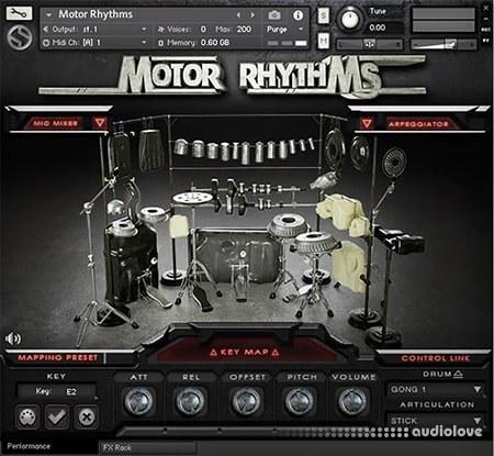 Soundiron Motor Rhythms KONTAKT