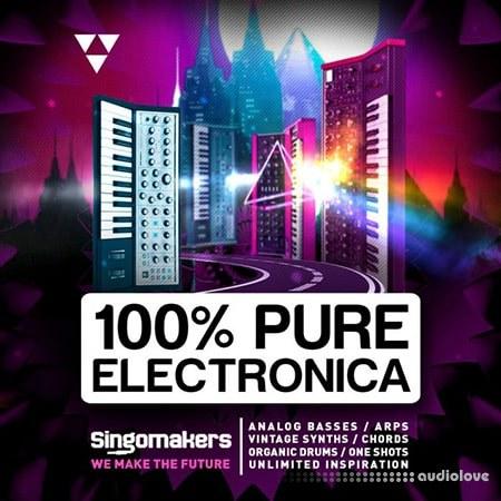Singomakers 100% Pure Electronica WAV REX