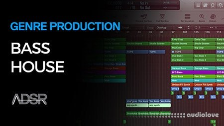 ADSR Sounds Bass House Music Production Course TUTORiAL