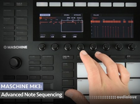 Groove3 MASCHINE MK3 Advanced Note Sequencing