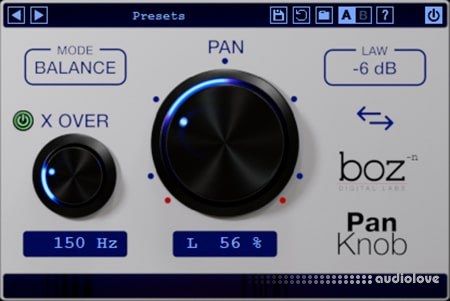 Boz Digital Labs Pan Knob v1.0.1 WiN MacOSX