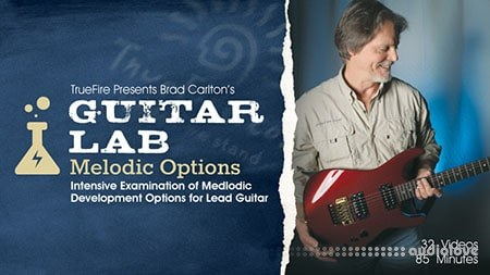 Truefire Guitar Lab Melodic Options TUTORiAL