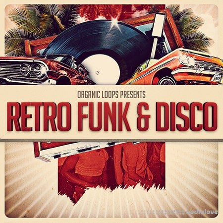 Organic Loops Retro Funk and Disco WAV REX