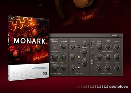 Native Instruments Monark v1.3.0 WiN MacOSX