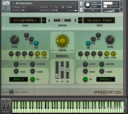 Rigid Audio PADSTATION KONTAKT