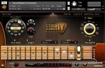 Indiginus StrumMaker IV Acoustic Guitar KONTAKT