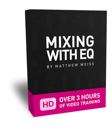 Matthew Weiss Mixing with EQ