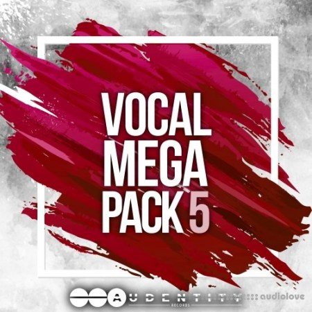 Audentity Records Vocal Megapack 5 WAV MiDi